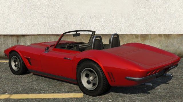 Hardtop Coquette Classic Gta Rear Gta Sports Classic Car