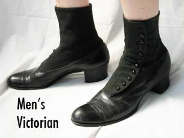 Mens victorian shoes | The Late 1800s and Early 1900s