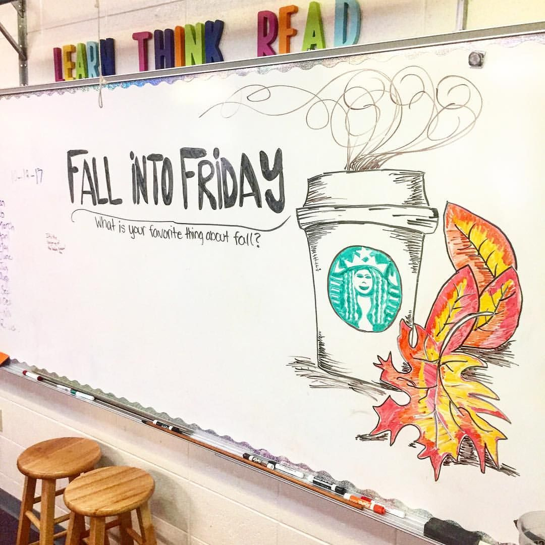 Fall into Friday... haha get it! lol of course a