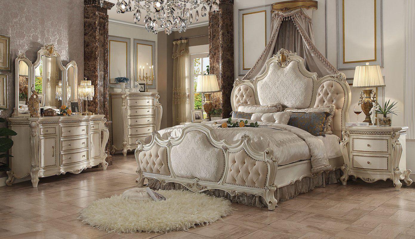 Astoria Grand Curcio Upholstered Panel Bed  Wayfair  Upholstered
