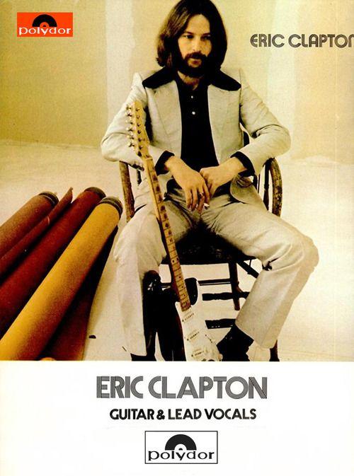 Eric Clapton, Billboard Magazine, 1970, Delaney & Bonnie era...