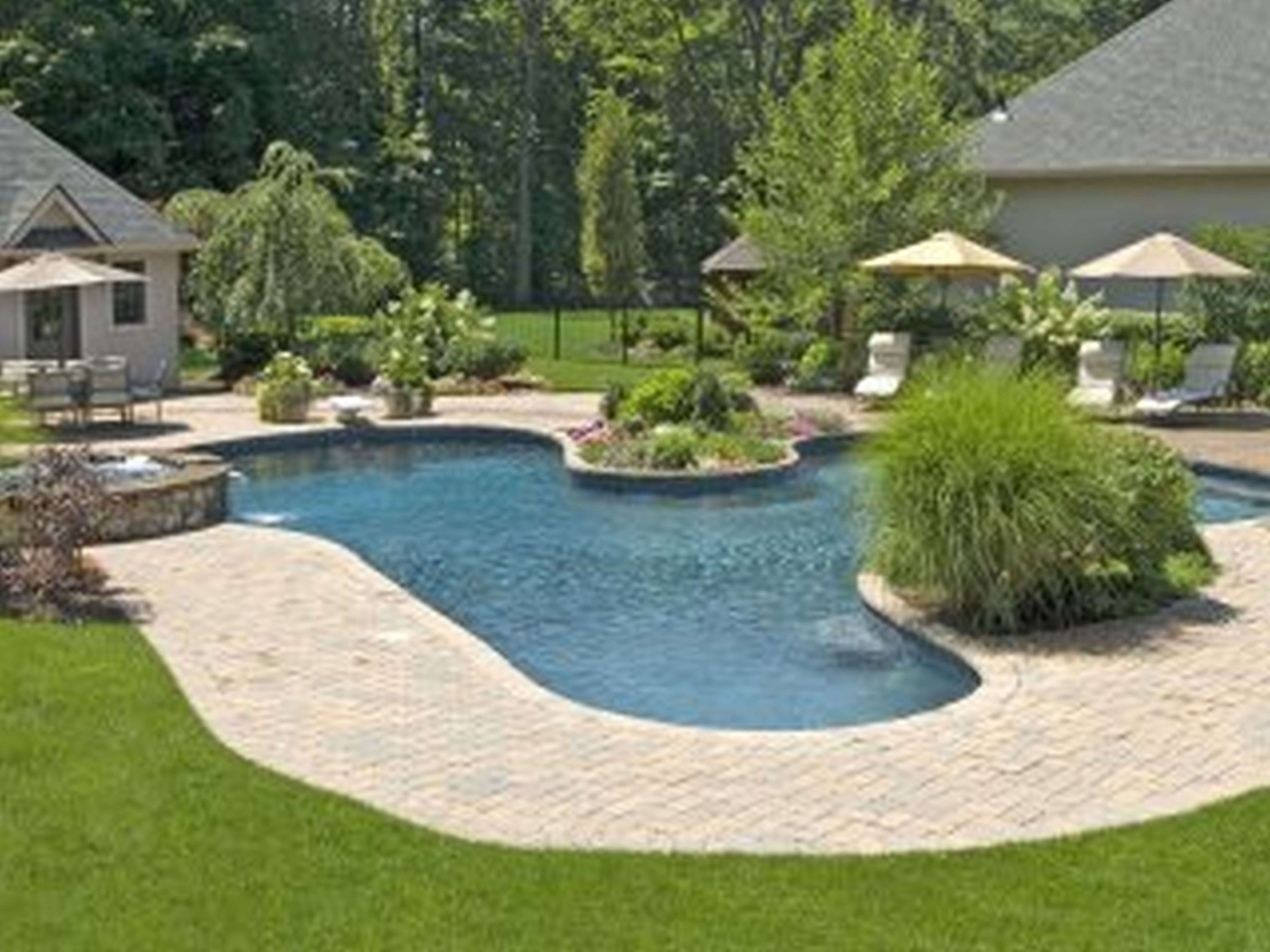 Pool Small Pool Design Ideas Backyard Landscapes Pool Design ...