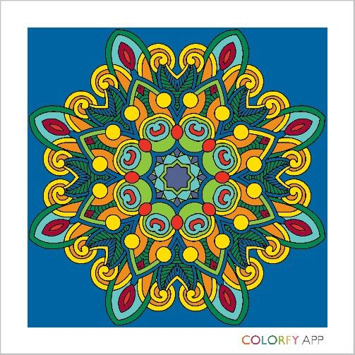 colorfy cool adult coloring book cool mandalas - How To Make A Coloring Book App