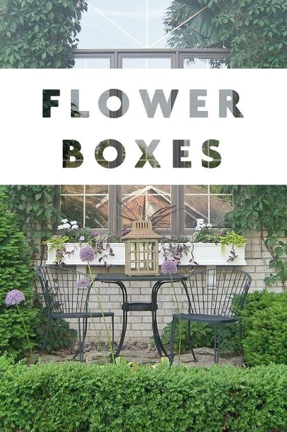 16 Fabulous Flower Boxes
