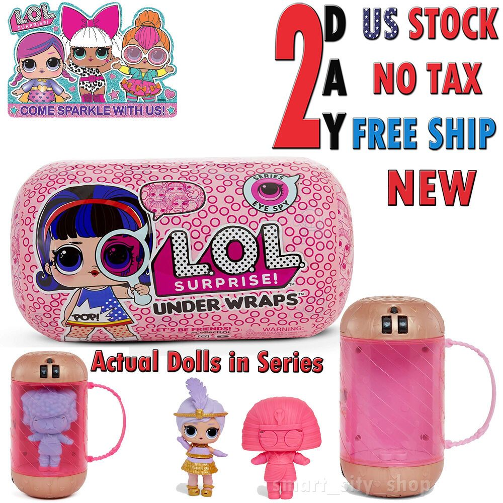 Authentic MGA LOL Surprise Under Wraps Doll  Wave 2-15 Surprises in 1