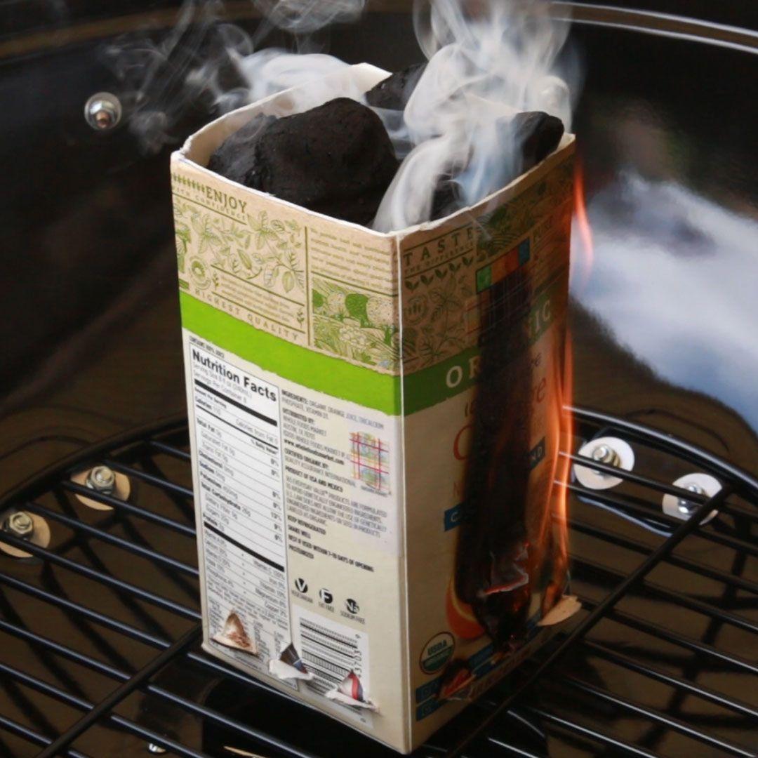 diy charcoal chimney nifty hacks pinterest charcoal life