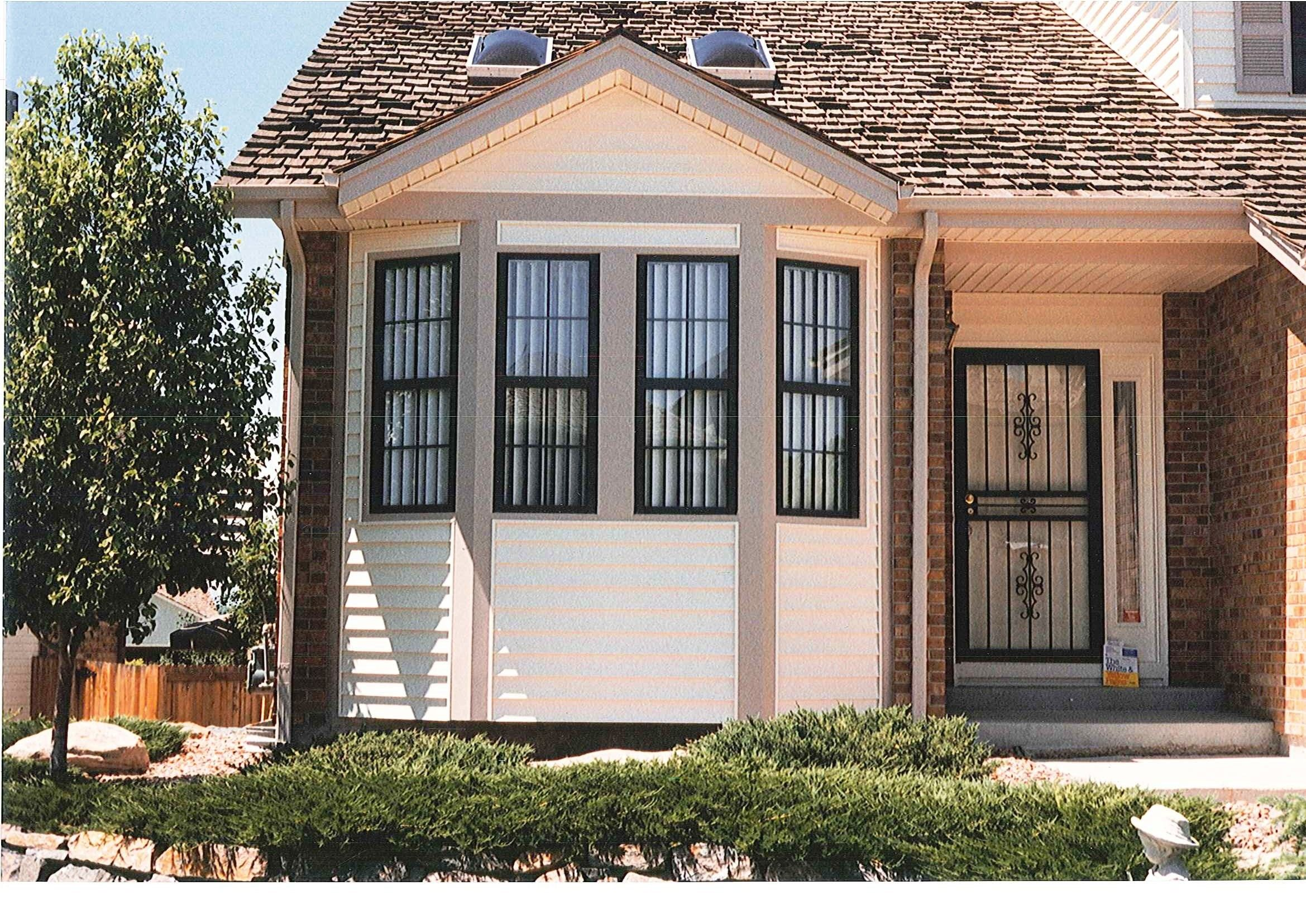 Front Elevation With Bay Window : Bay window siding options denver home