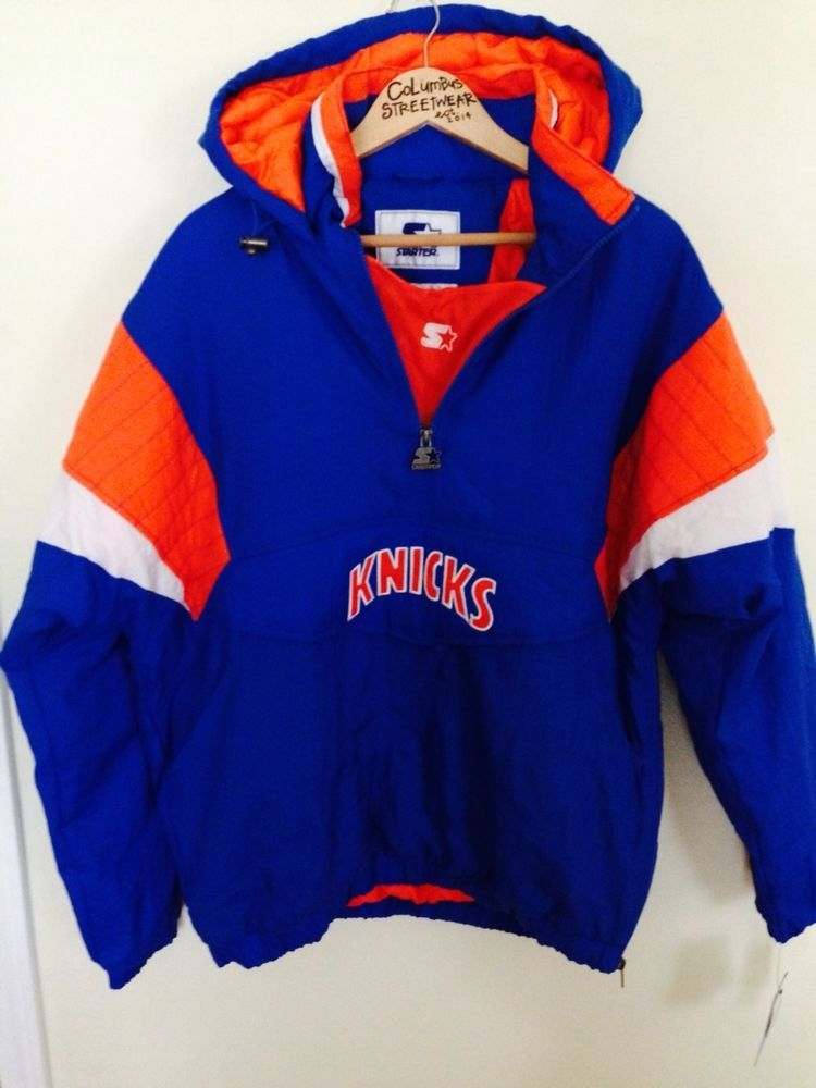 New York Knicks Starter Jacket  160 Pullover Coat Throwback OG Vintage 90s  NBA  Starter  NewYorkKnicks 144a38d1c