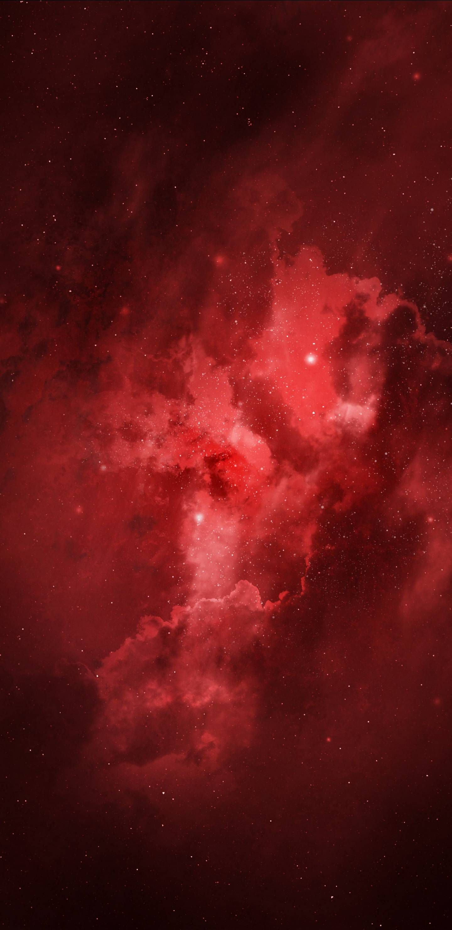 Red Galaxy Iphone Red Wallpaper Red And Black Wallpaper Dark Red Wallpaper