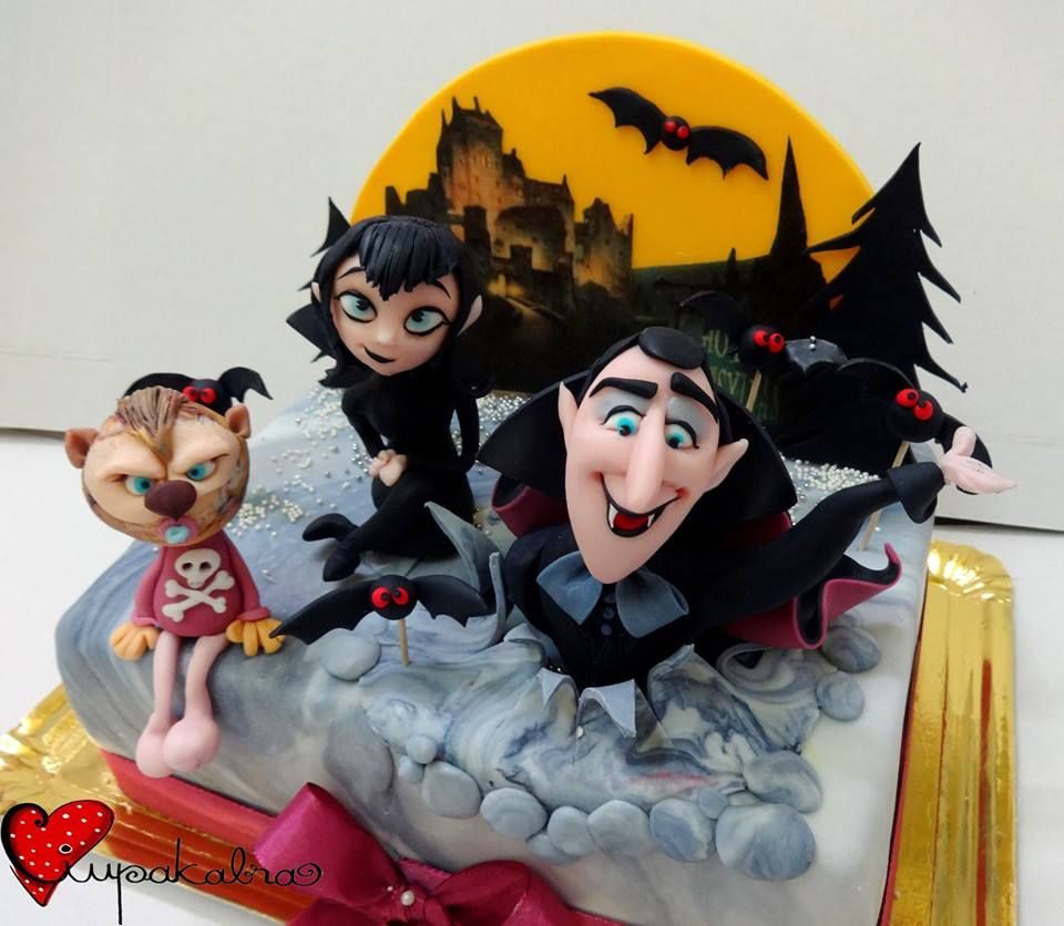 Hotel Transylvania Ciupakabra Cakes - Movies & Tv