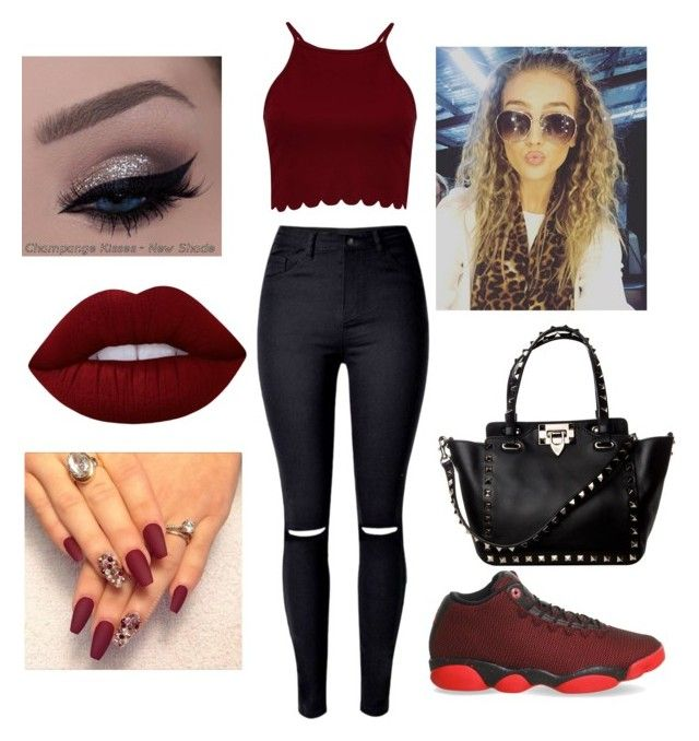 """Untitled #52"" by keke-hargrove on Polyvore featuring Boohoo, NIKE and Lime Crime"