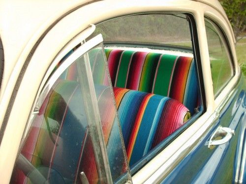 Doing This To My Car Mexican Blanket Bucket Seat Covers