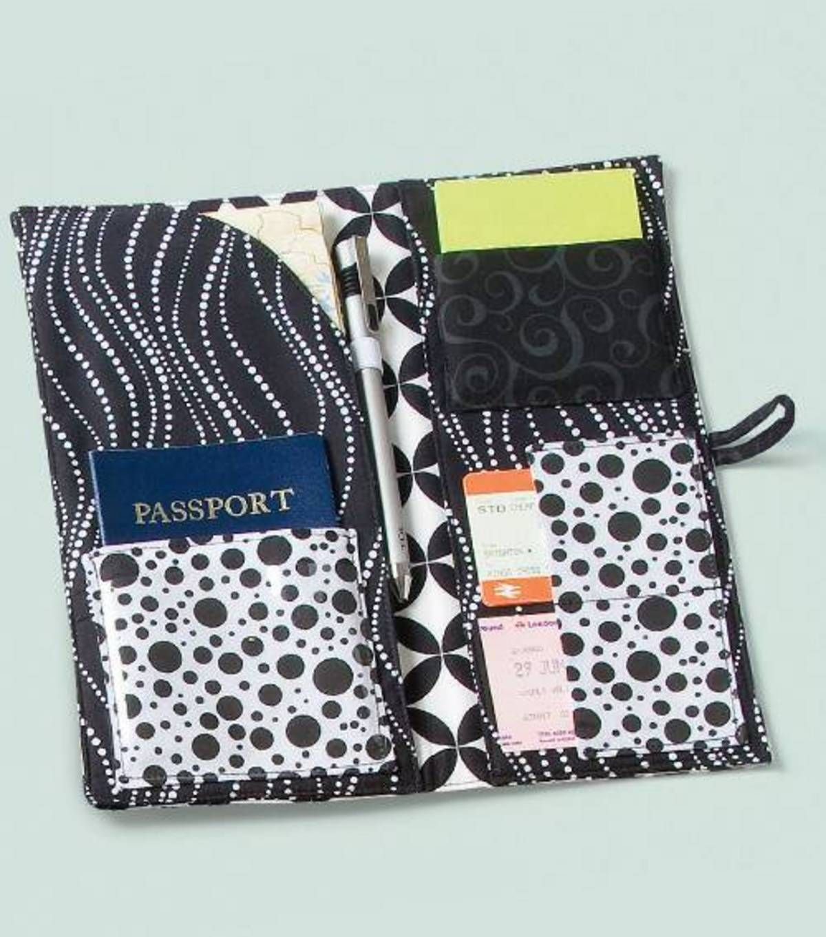 Passport Case - downloadable pattern from Joann.com | Sewing ...