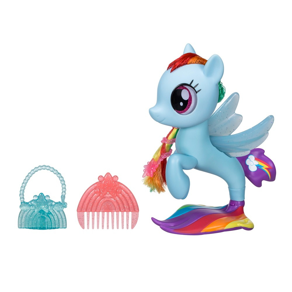 Rainbow Dash Sparkles And Shines Undersea Inspired By My Little