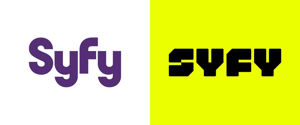 New Logo For Syfy By Loyalkaspar Identity Logo Logo Design Identity
