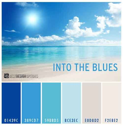 Summer Colors Cool Palettes For Summer Designs Beach Color