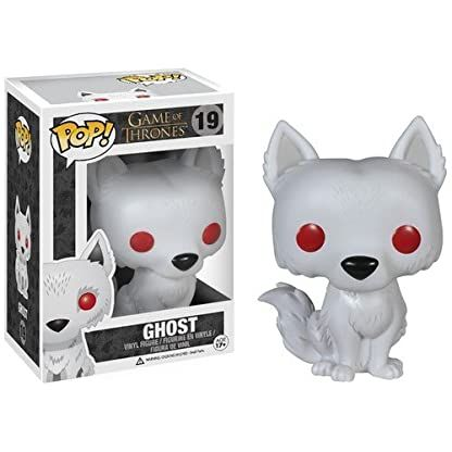 Starks dire wolf - Ghost Toy