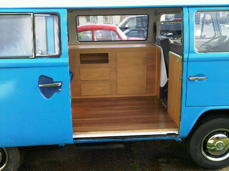 Thesamba Com View Topic Vw Bus Homemade Custom Interior Vw Bus Interior Bus Interior Vw Bus