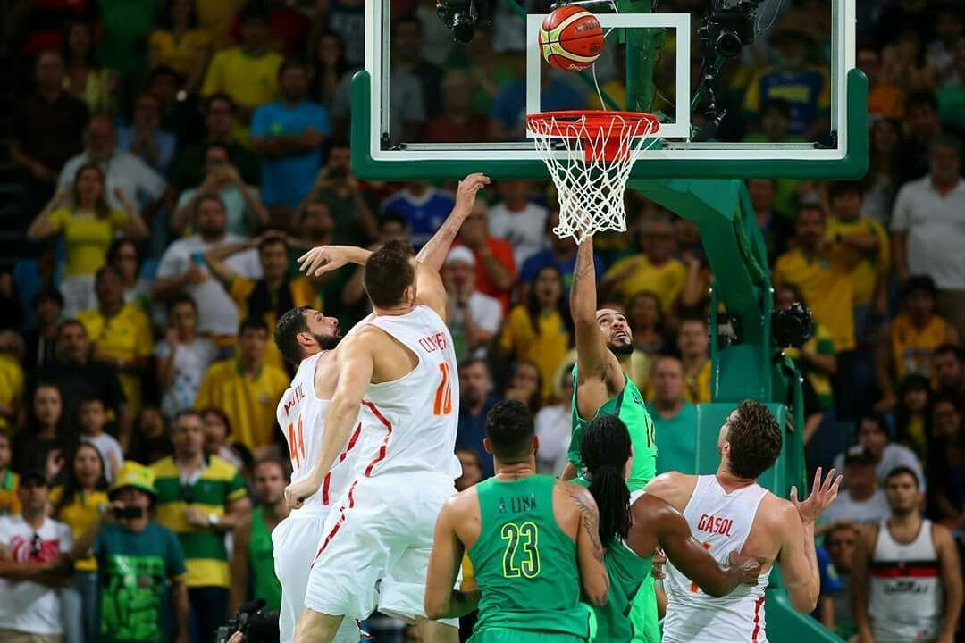 Brasil Espanha basquete