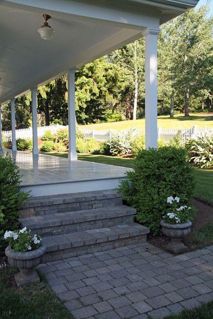 Diy Front Walkway Amp Steps From Concrete Pavers This Is A