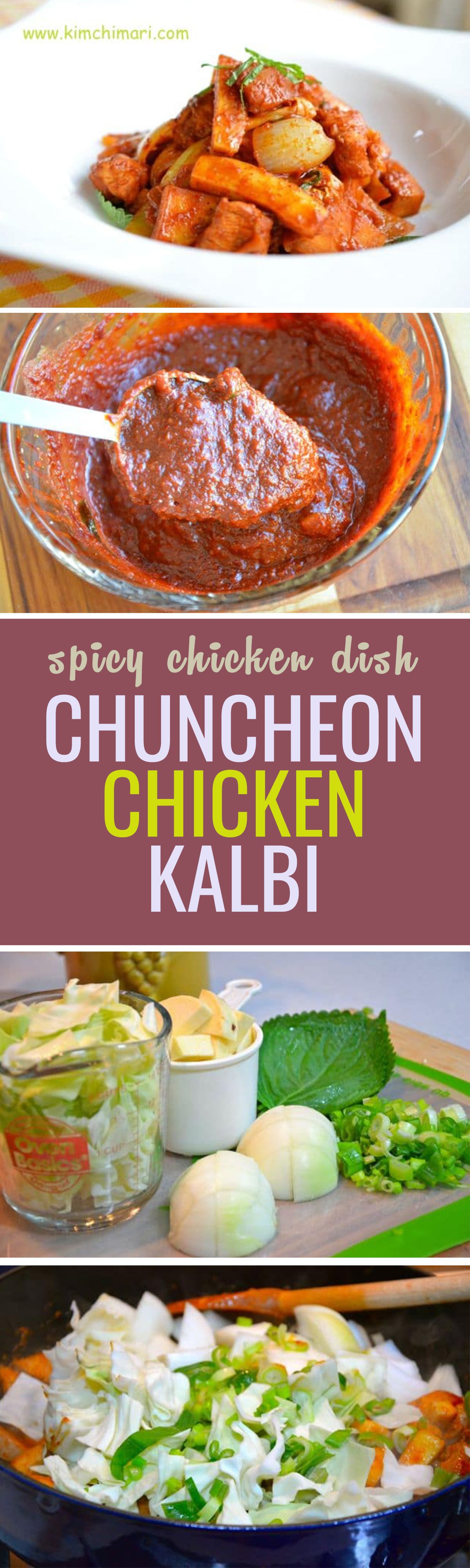 Chuncheon dak kalbi is a wonderful one pot dish that is slightly asian food recipes chuncheon dak kalbi is a wonderful one pot dish that is slightly spicy sweet and forumfinder Choice Image