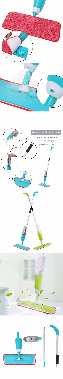 Multifunction Microfibre Spray Mop Spray Water Wash Plate Mop ...