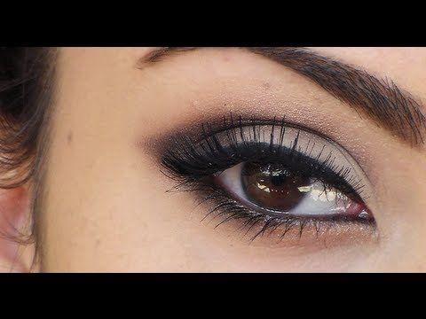 applying eyeshadow for beginners  dramatic eyes