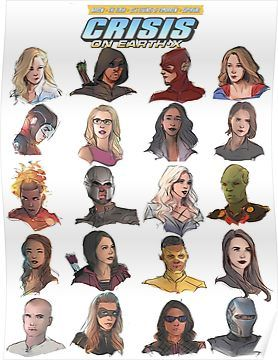 'arrowverse' Poster by shani artist