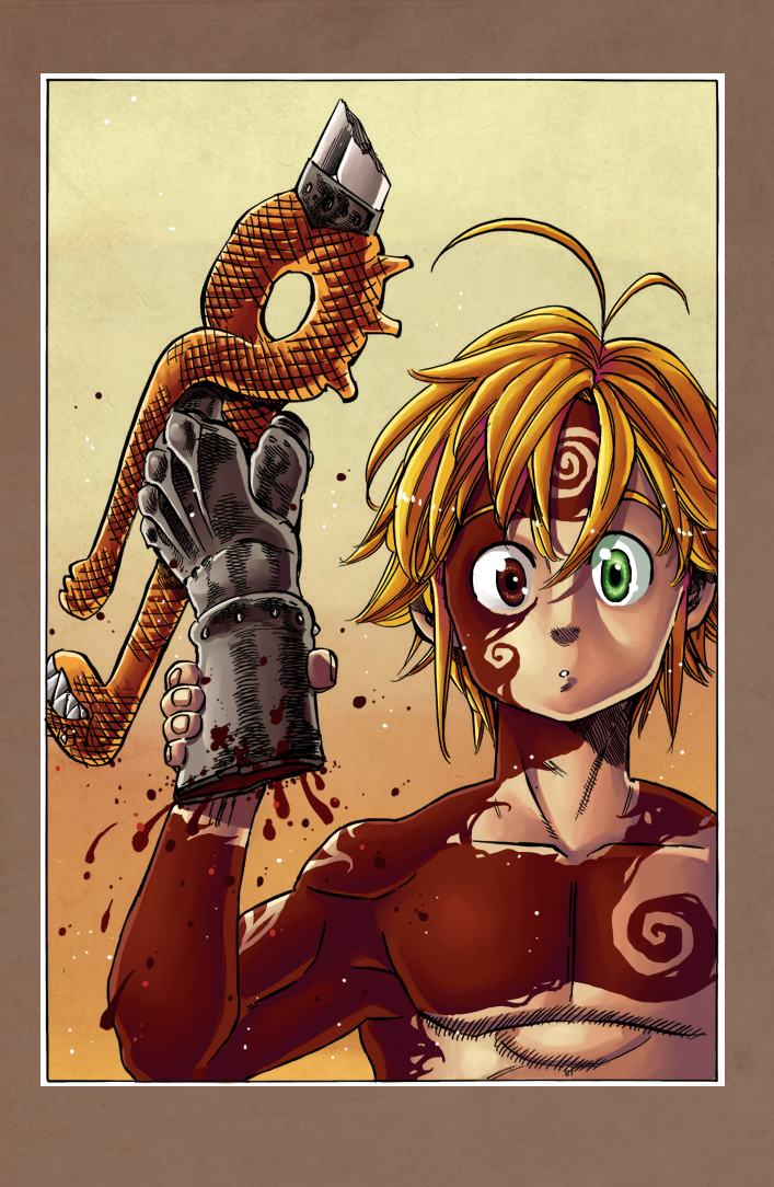 Meliodas You are required to have at least one letter or