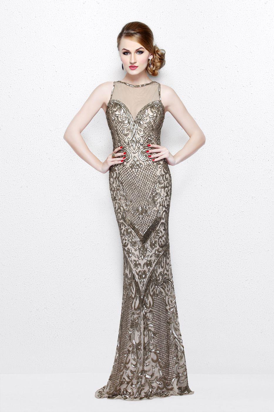 Primavera couture prom dress in primavera couture