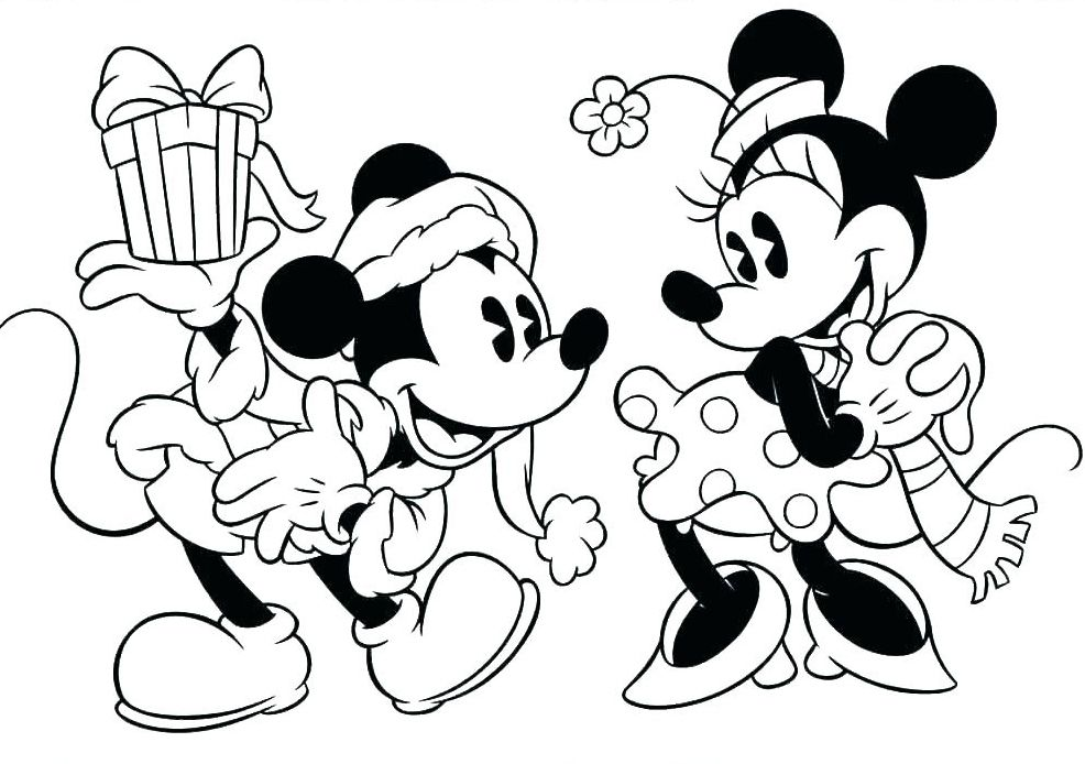 Mickey Mouse Christmas Coloring Pages - Best Coloring Pages For Kids  Disney Christmas, Mickey Mouse Christmas, Disney Coloring Pages