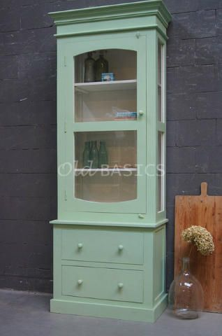 Narrow Cabinet. (link To Old Basics.nl) Great Site For Old Cabinets.