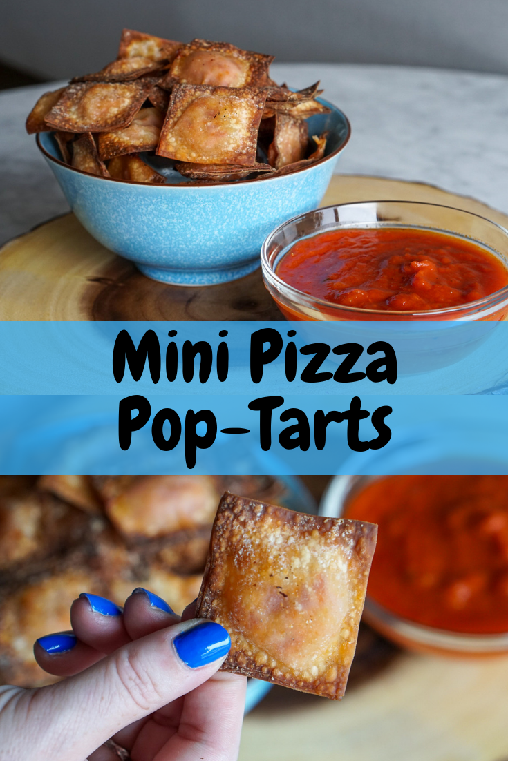 Mini Pizza PopTarts Recipe Pop tarts, Mini pizza, Air