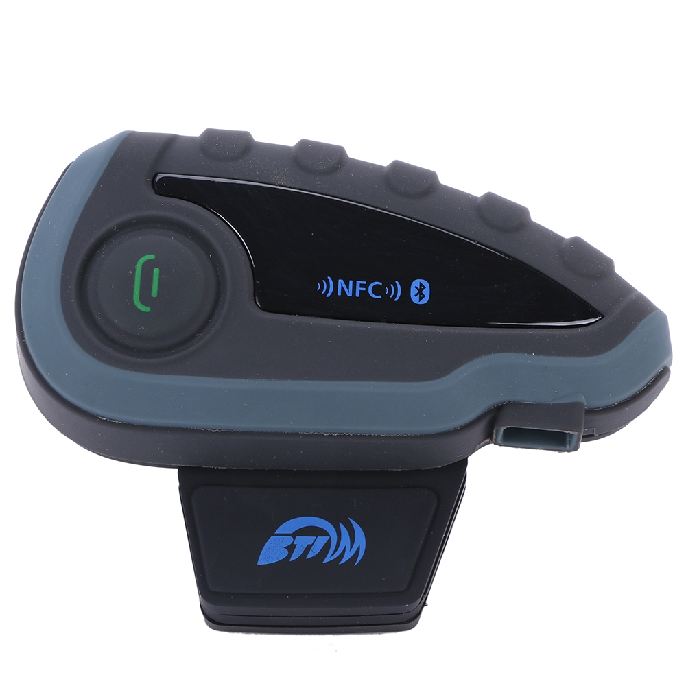 94.54$  Buy here - http://alipko.worldwells.pw/go.php?t=32232569855 - Bluetooth Motorcycle Intercom V8 Intercom Bluetooth Headset for Helmet Headphone FM NFC BT Interphone 1200M for 5 Riders