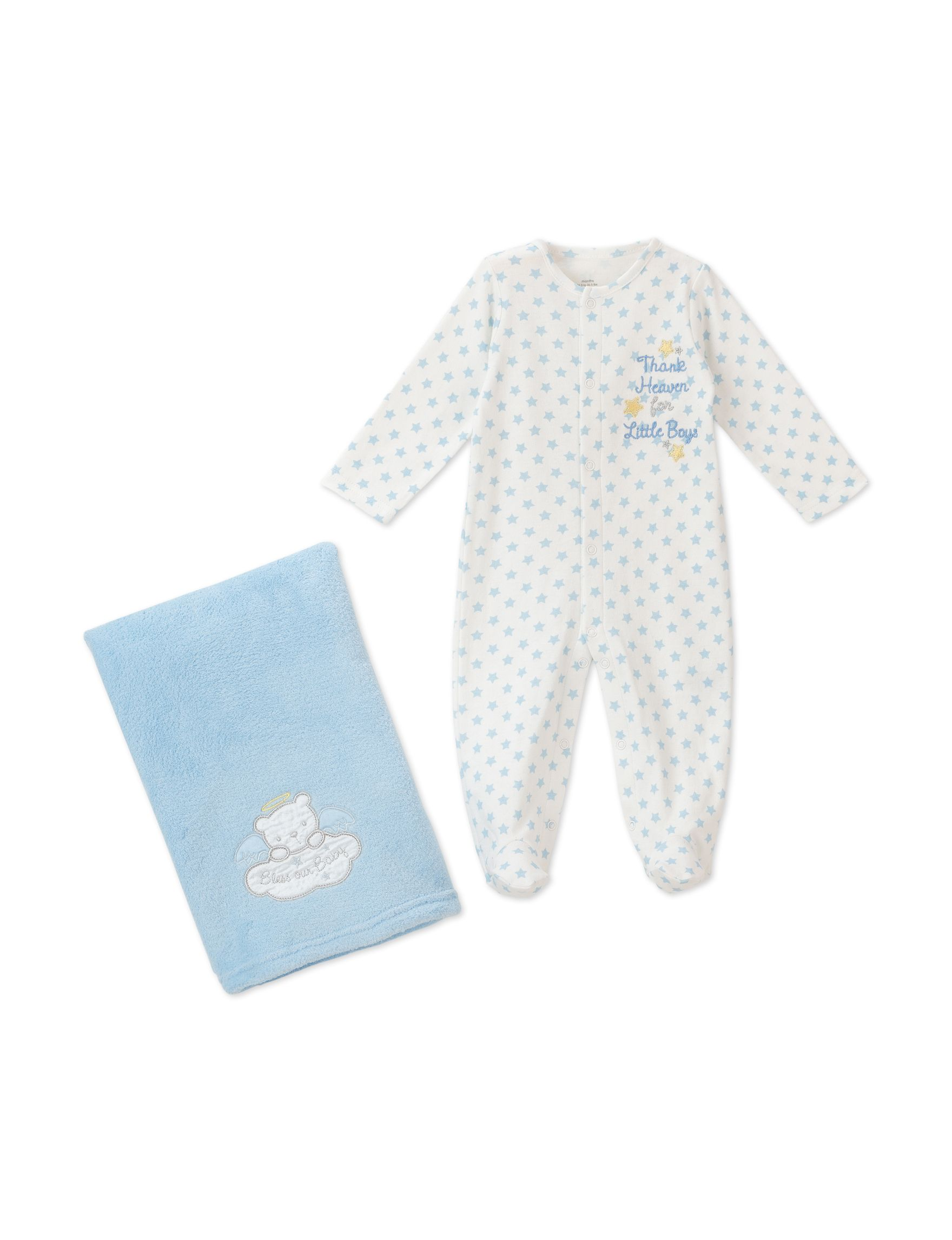 Shop today for Baby Starters 2 pc Thank Heaven for Little Boys