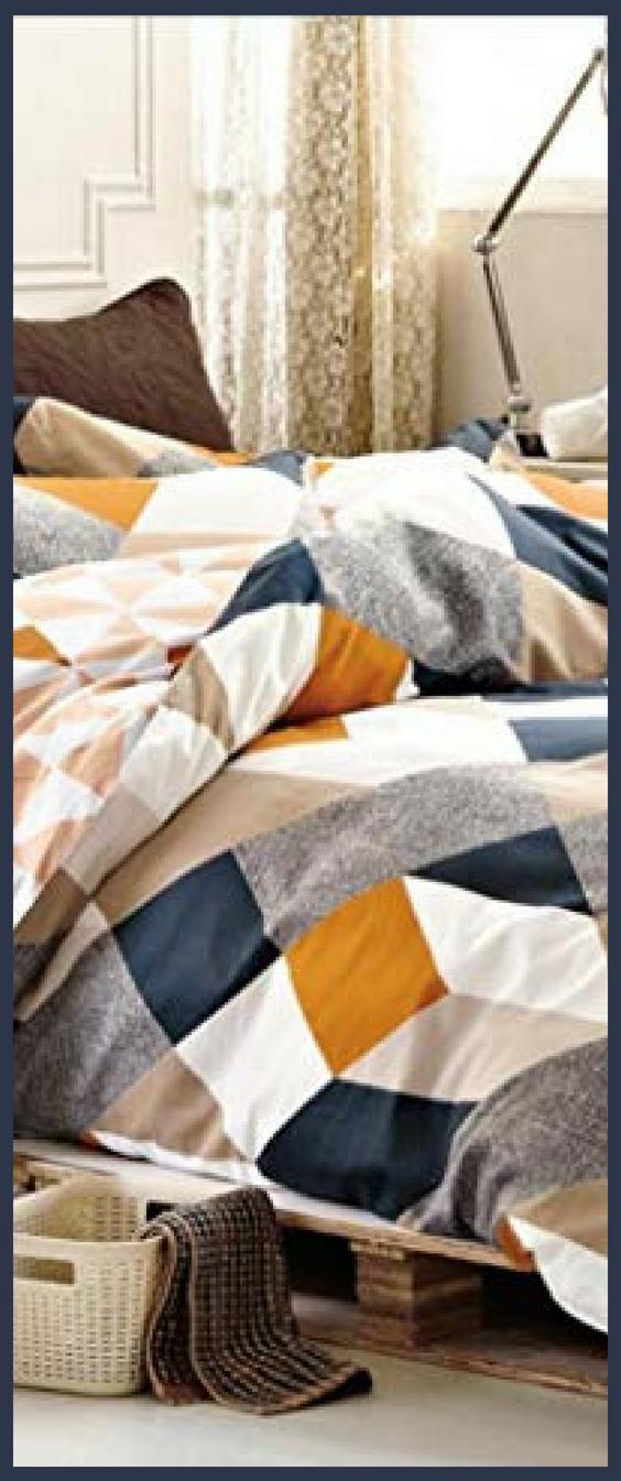 Cool Multicolored Geometric Bedding Ideas Geometric Bedding Bed Design Modern Scandinavian Design