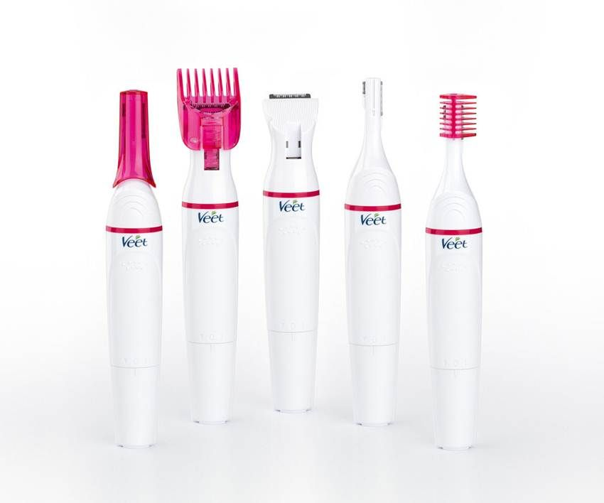 All In One Veet Electric Trimmer Kit For Gentle Hair Removal