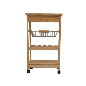 Neu Home 18.5 in. Kitchen Cart-34131W-1 at The Home Depot