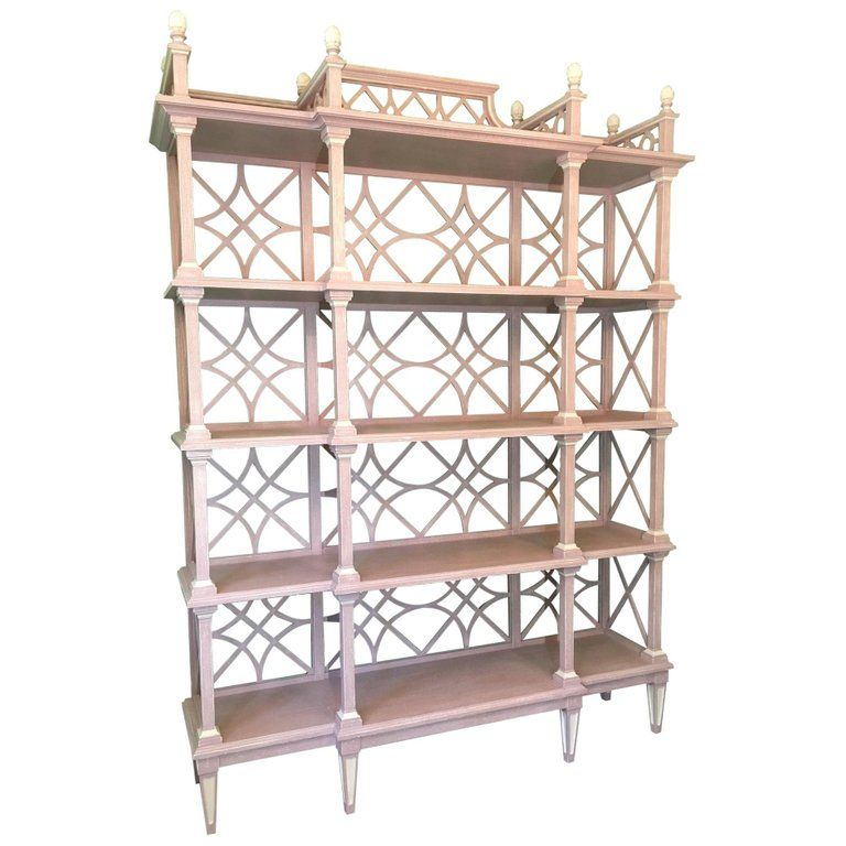 Stanley Furniture Wood Etagere Stanley Chinese Chippendale
