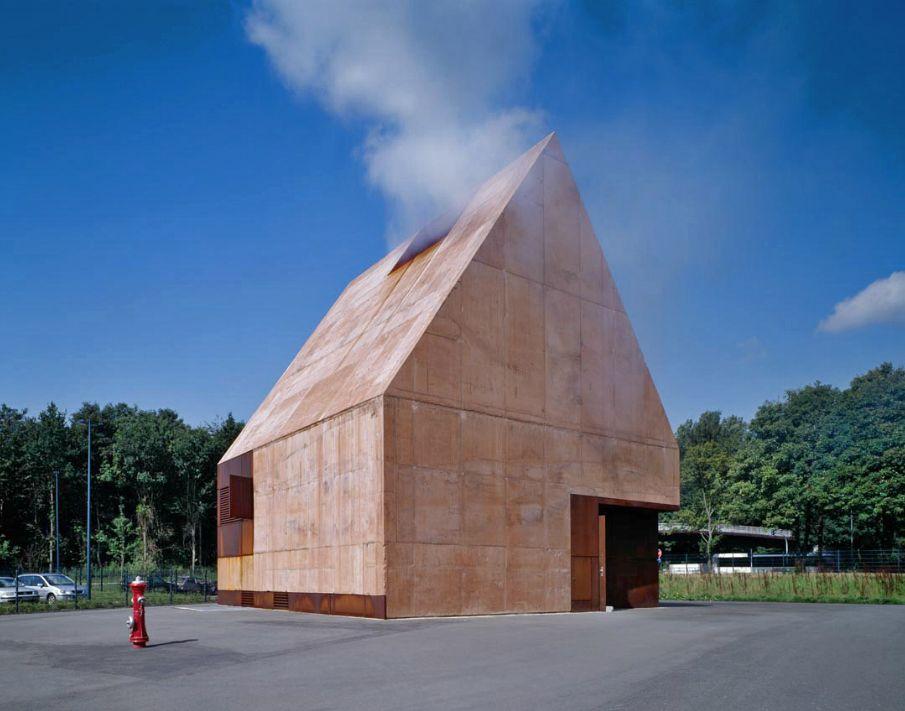 K2 Architekten house for firefighters by böge lindner k2 architekten