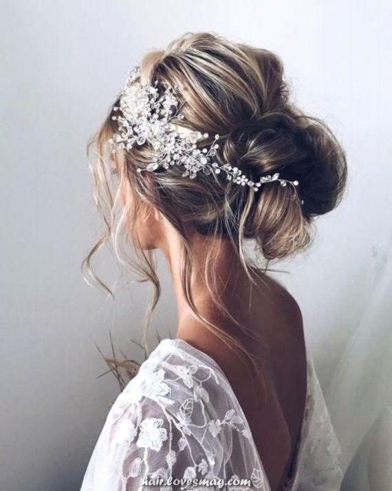 Photo of Crystal Bridal Hair Vine Bridal Hair Vine Clear Tiara Bridal Equipment for Bridal Hair headband head