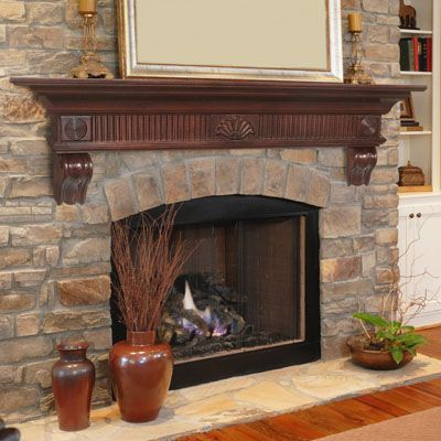 Fireplace Mantels And Shelves High Quality By Brick Anew