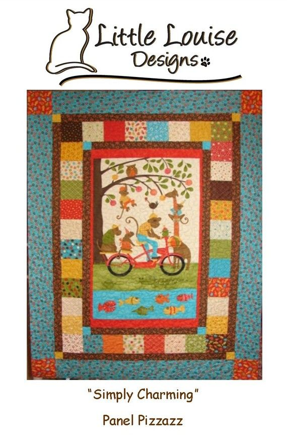 Quilt Patterns Simply Charming Panel By Littlelouisequilts