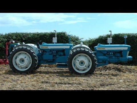 Rare Ford Dual Drive Tractor Working Fingal Show 2013 Tractors Ford Tractors Ford