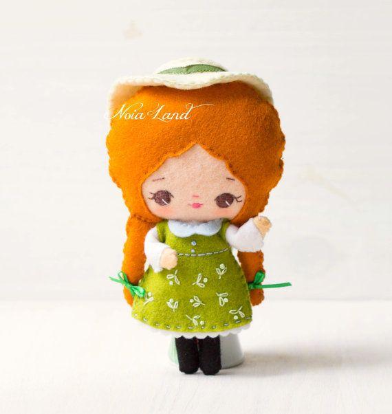 Little Anne Doll Pdf Pattern Felt Doll Felt Dolls Pdf Pattern