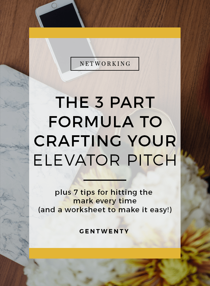 The Guide To Crafting Your Elevator Pitch  Pitch Career Advice