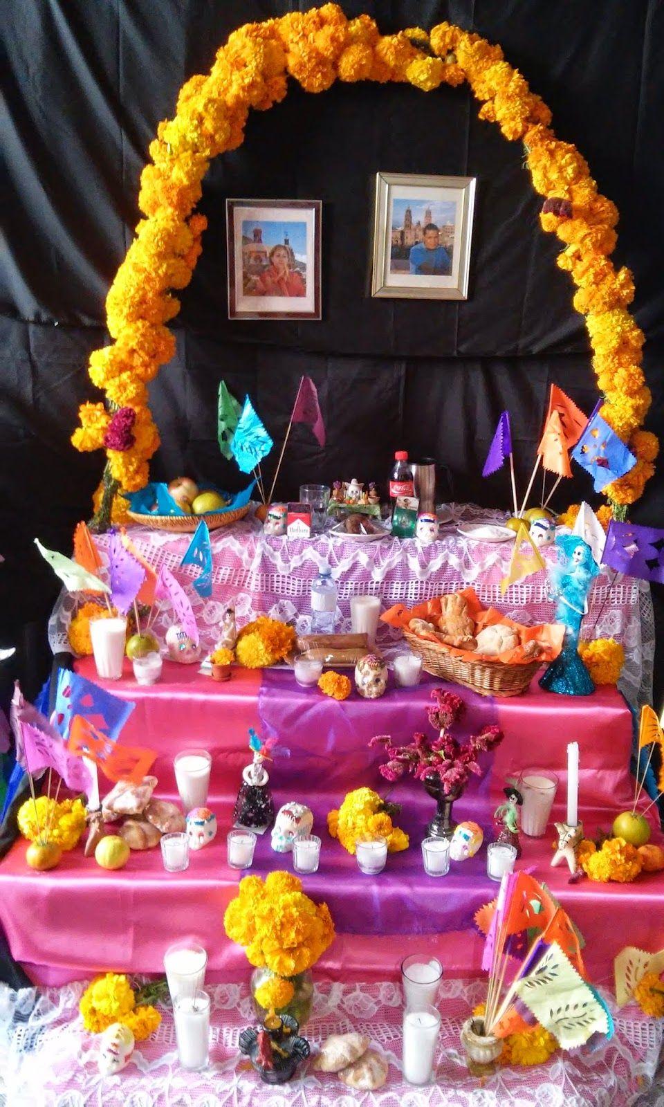 Ideas Para Altar De Muertos Pasteles D Lulú Ofrenda Altares