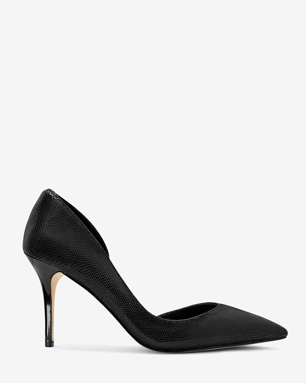 9898ca26fc Women's Ella Lizard-Embossed D'Orsay Pumps by White House Black Market