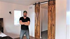 65 The Rehab Life Youtube Barn Door Diy Projects Diy Barn Door Hardware Diy Sliding Barn Door