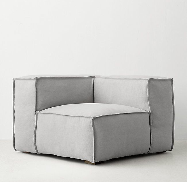Rowan Upholstered Modular Corner Chair (With Images